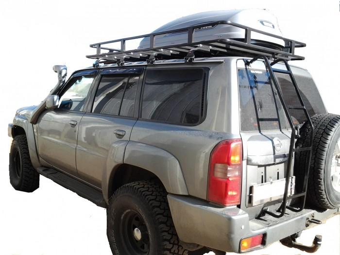 Багажник на крышу для ниссан патрол своими руками 19